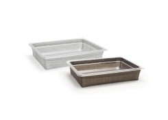 Half Size Metroweave Housing/ Pan Set - Shallow