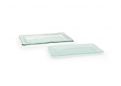 "11"" x 5.5"" Rectangle Arctic Plate"