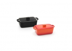 10oz Rectangle Kiln®  Ovenware Dish with Lid