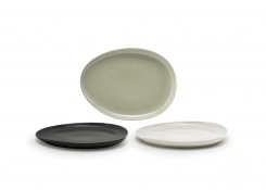 "13"" Oval Tides®  Low Plate"