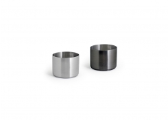 9oz Round Brushed Stainless Soho Ramekin – Matte Black