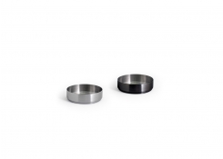 3oz Round Brushed Stainless Soho Ramekin – Matte Black