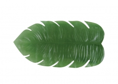 "30"" x 16"" Philodendron Leaf Runner"