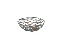 "8"" Round Patina Basket"