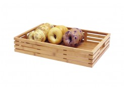 Full Size Bamboo Basket - Shallow